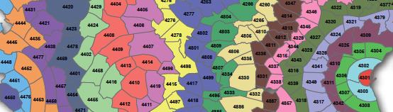 Midttrafik zonekort Enkeltbilletten